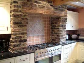 Kitchen detail Greenhill Hall plots